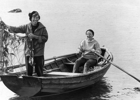 Tove Jansson in Tuulikki PIetila Bredsraer 1961
